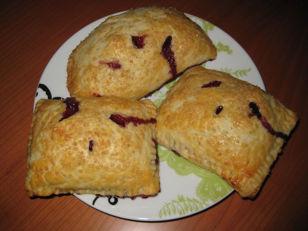 Blueberry Cream Cheese Hand Pies!