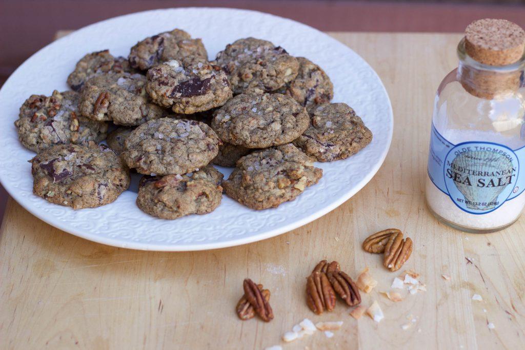 Brown Butter Buckwheat Cookies
