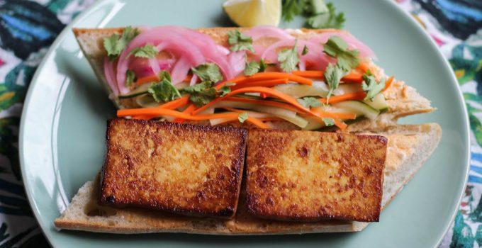 Tofu Banh Mi Sandos