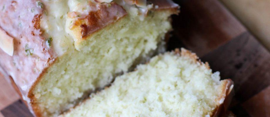 Coconut & Lime Teacake
