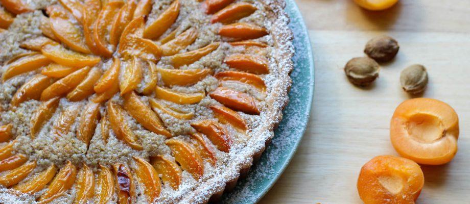 Apricot Walnut Tart