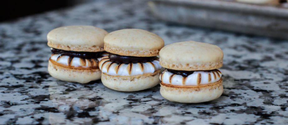S'more Macarons