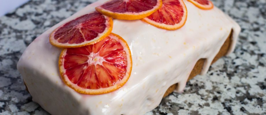 Blood Orange Poppy Seed Teacake