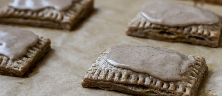 Pumpkin Pop Tarts with Sourdough Pie Crust